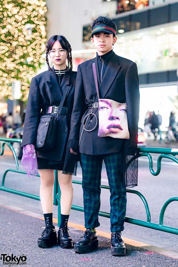 Dark Harajuku Vintage Streetwear Styles w/ WEGO, 7% More Pink, Rebertas, MPQ, Yosuke, Daiso & Romantic Standard