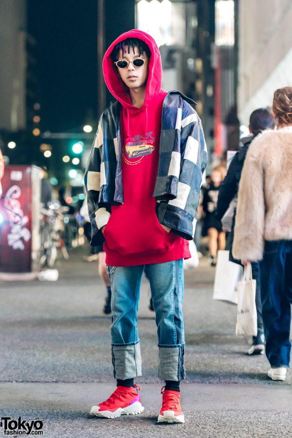 Kinji Harajuku Staffer Streetwear Style w/ Balenciaga & Adidas Originals