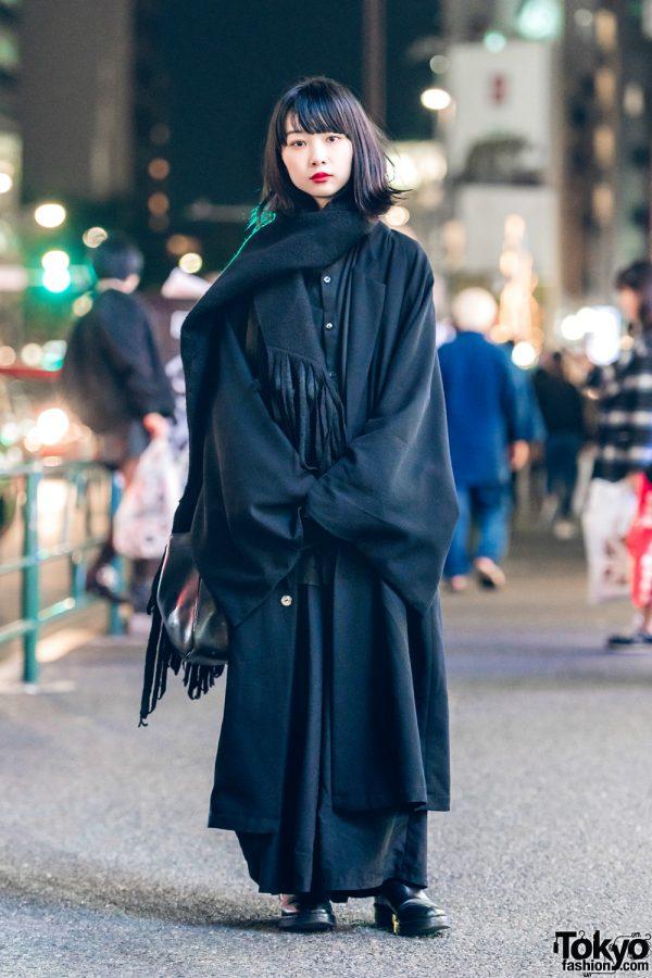 Dark Minimalist Japanese Streetwear w/ Kujaku, Yohji Yamamoto, Ann Demeulemeester & Lad Musician