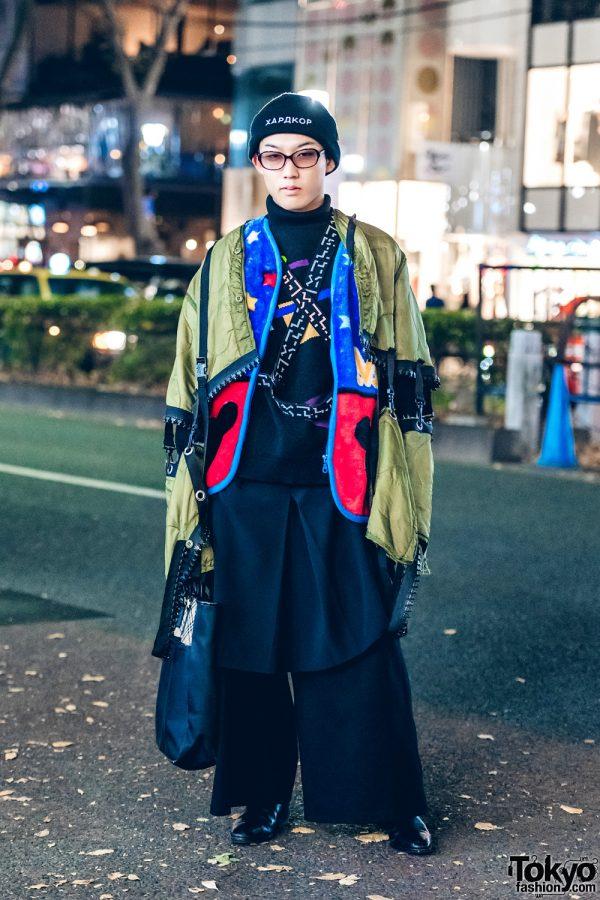 Japanese Layered Street Fashion w/ Dog Harajuku, Gosha Rubchinskiy, Lad Musician, Agnes B. & Ethosens