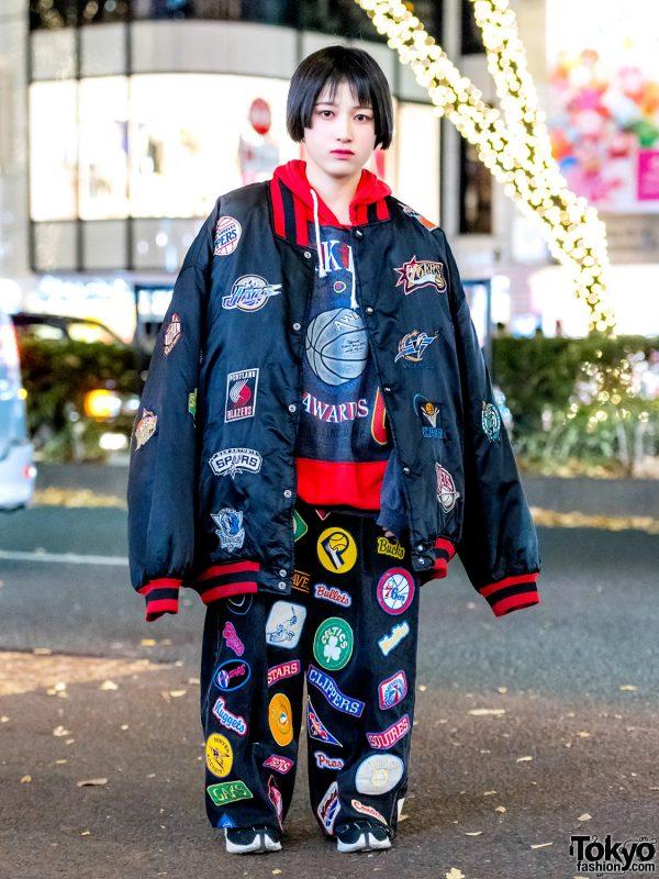 Oversized Logo Print Street Style w/ Kinsella Tokyo, Pinnap, San To Nibun No Ichi & Tommy Hilfiger