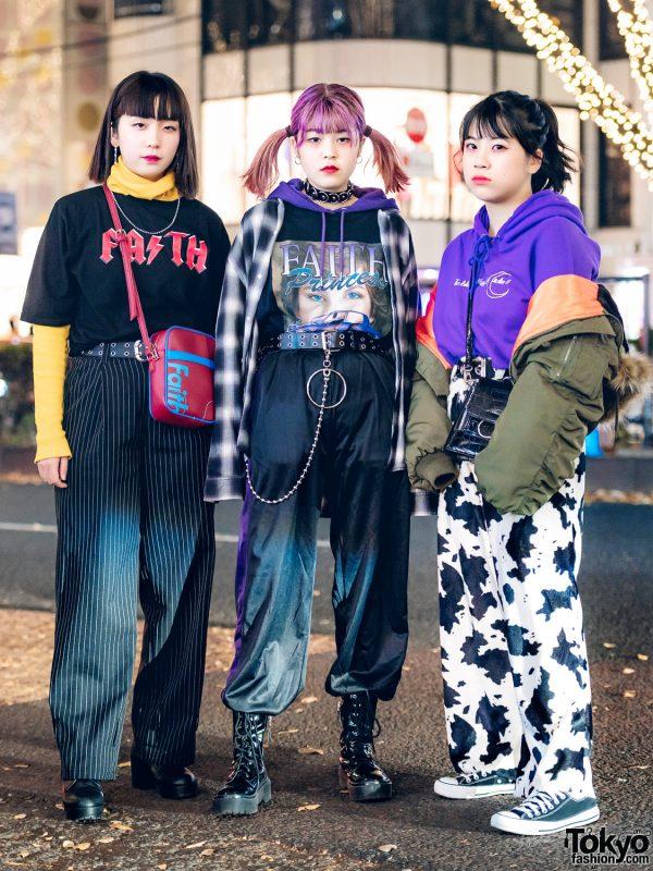 Japanese Streetwear Styles w/ Faith Tokyo, Bubbles Harajuku, Kinji, 7% More Pink & Never Mind the XU