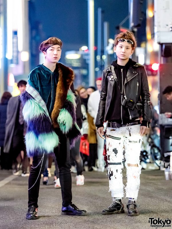 Japanese Fur & Punk Streetwear w/ Dr. Martens, Dog Harajuku, Rauco House, Eclasion, Prega & Never Mind the XU