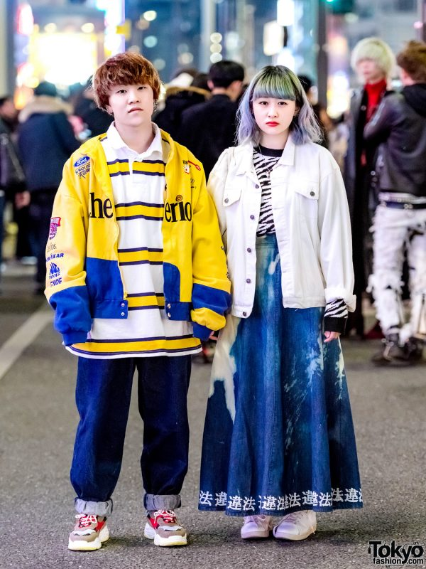 Harajuku Duo's Casual Streetwear Styles w/ WEGO, Suzumebachi & Don Quixote