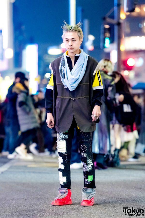 Modern Fashion Remake Streetwear in Harajuku w/ Puma, ValenTine & Tokyo Human Experiments
