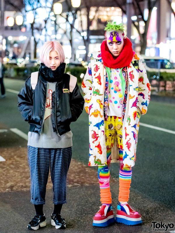Harajuku Streetwear Styles w/ 6%DOKIDOKI, Black Milk, Kobinai, Monomania, Jeffrey Campbell & M.Y.O.B.