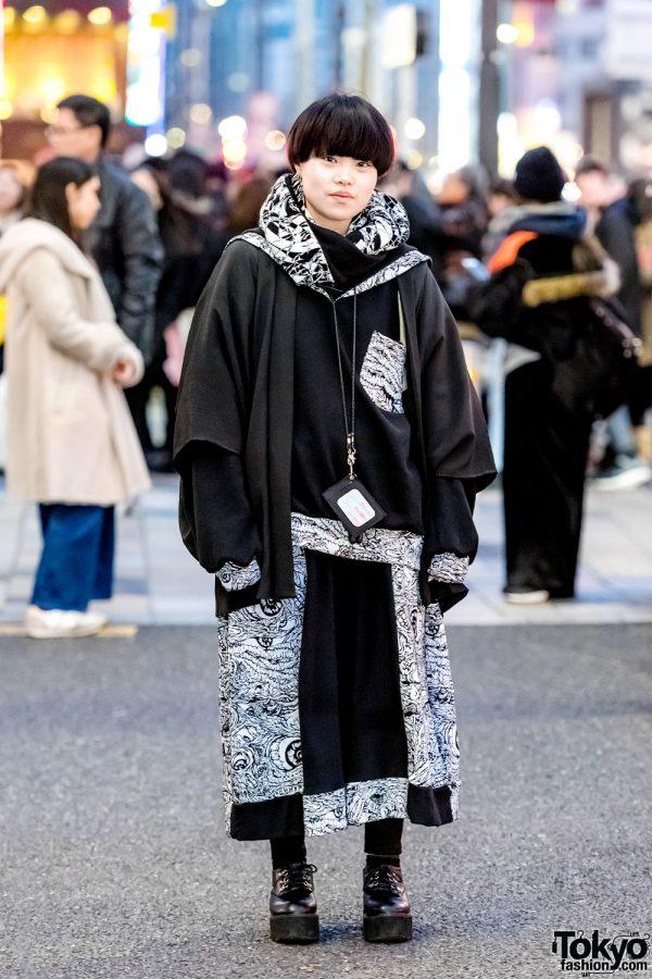 Japanese Monochromatic Streetwear Style w/ Hiyu, M:E & WEGO