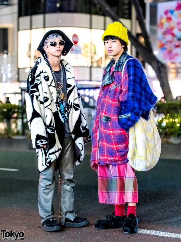 Harajuku Guys in Graphic Vintage Streetwear w/ Hiro, Garb, Jieda, Carpe Diem, George Cox & Donnybrook