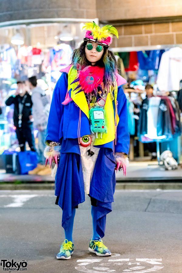Japanese Avant-Garde Street Style w/ Takuya Angel, Zetsumetsu Kigushu & ACDC Panda Backpack