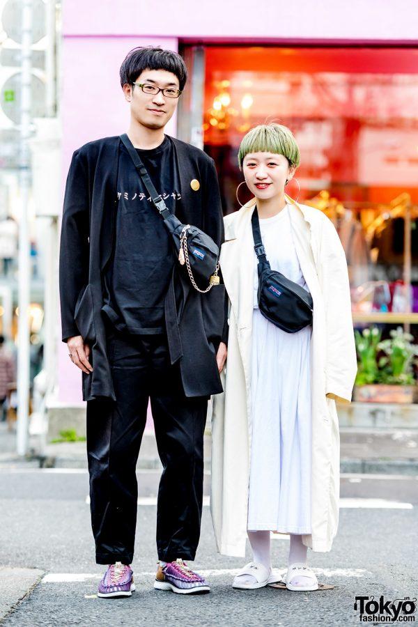 Minimalist Harajuku Streetwear Styles w/ Adam et Rope, Ikumi, Vivienne Westwood, Alexander Lee Chang x Keen & Issey Miyake