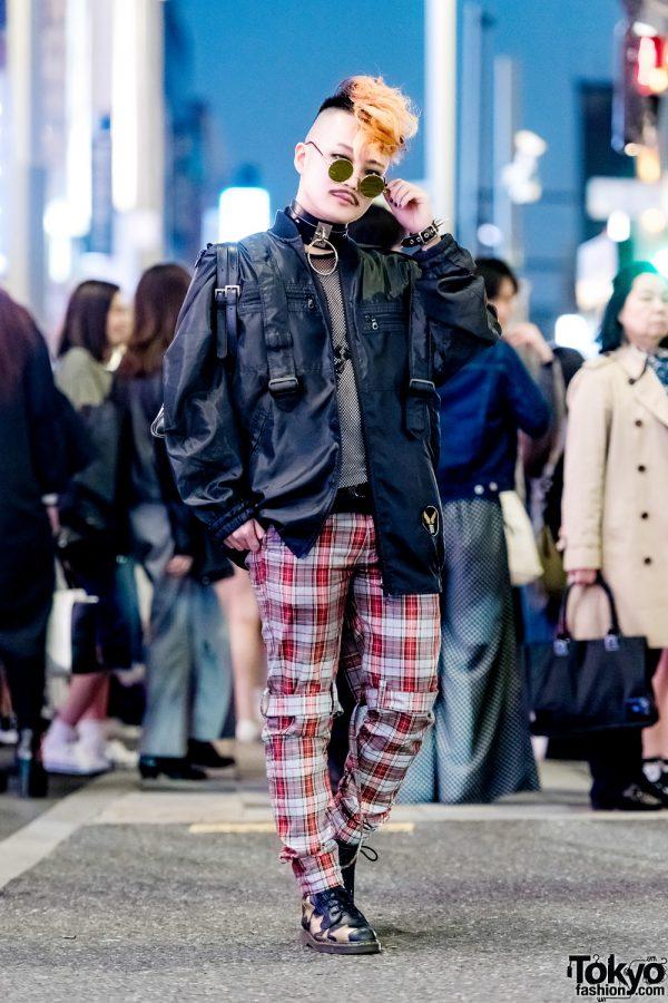 Tokyo Decadence Staffer in Harajuku Streetwear Style w/ Milkboy, MalkoMalka, Agnes B. & BeautiK