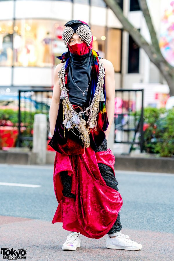 Harajuku Guy in Vintage & Handmade Style