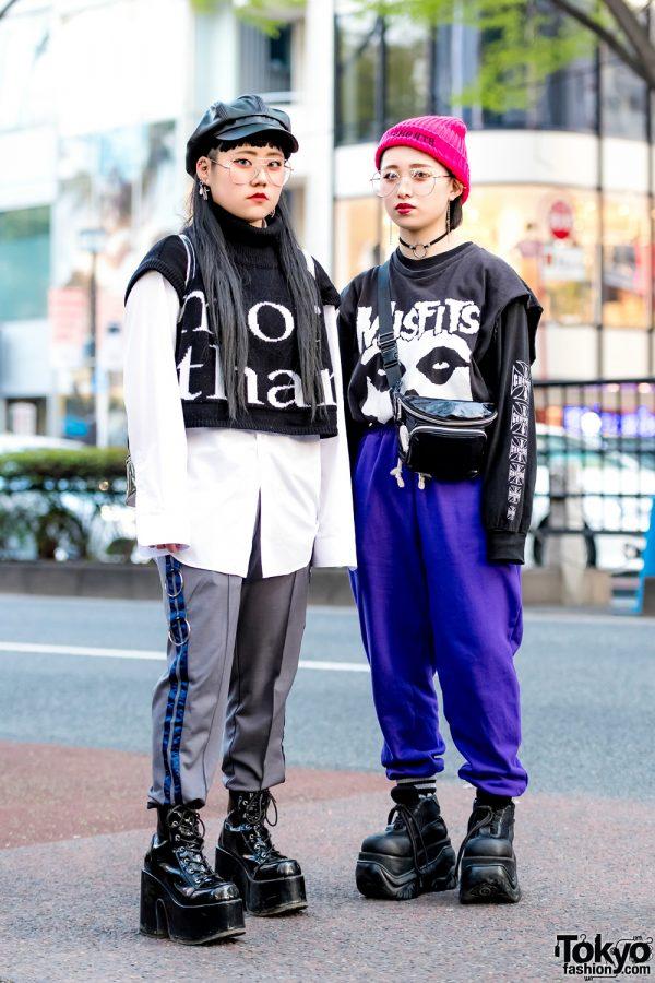 Japanese Teen Streetwear Styles w/ More Than Dope, Never Mind the XU, Demonia, West Coast Choppers & Faith Tokyo