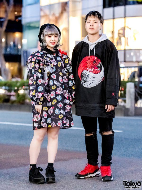 Harajuku Street Styles w/ Candy Stripper, Syrup, Tokyo Bopper & Nike