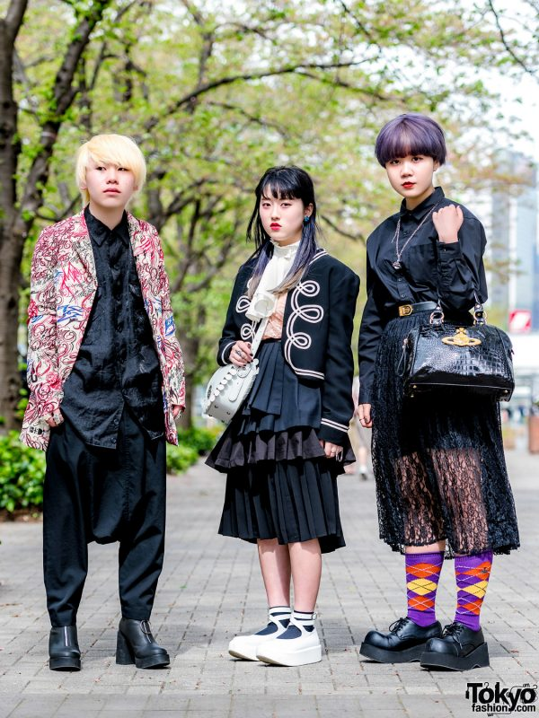 Tokyo Streetwear Styles w/ Comme des Garcons, Vivienne Westwood, MYOB NYC, Demonia, Haight&Ashbury, Tokyo Bopper & Dolls Kill