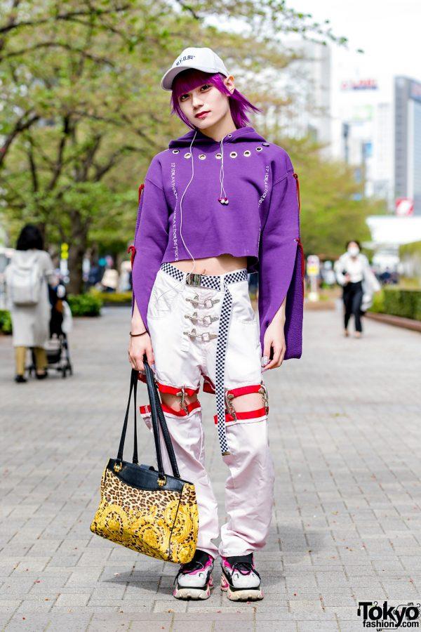 Tokyo Streetwear Style w/ M.Y.O.B, Bubbles Harajuku & Gianni Versace Leopard Print