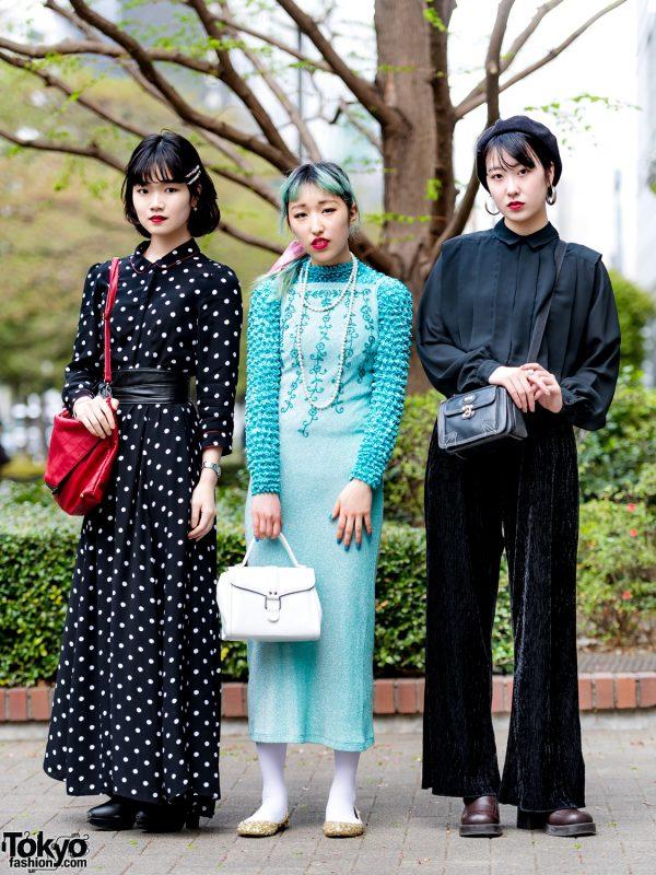 Tokyo Trio's Street Styles w/ Funktique, Emoda Zara, Tiffany & Cartier