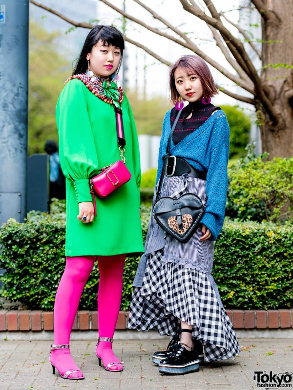 Colorful Tokyo Street Style Looks w/ Kastane, Lily Brown, H&M, Zara, Dr. Martens & Marc Jacobs