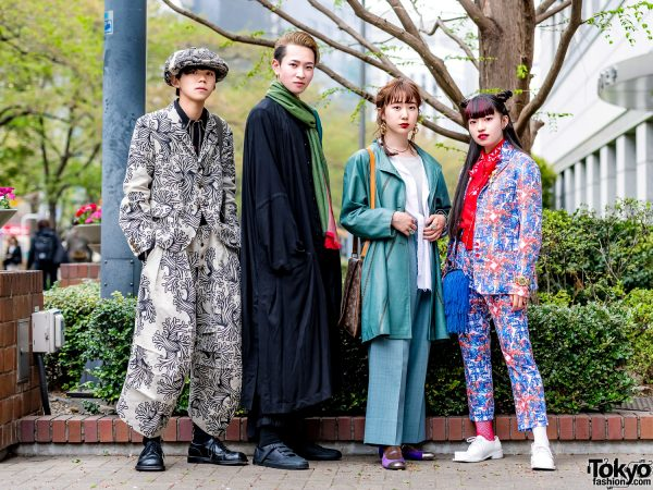 Tokyo Street Styles w/ Christopher Nemeth, Rick Owens, Yohji, LV, Dowbl, Kinji, Ikumi & Vivienne Westwood