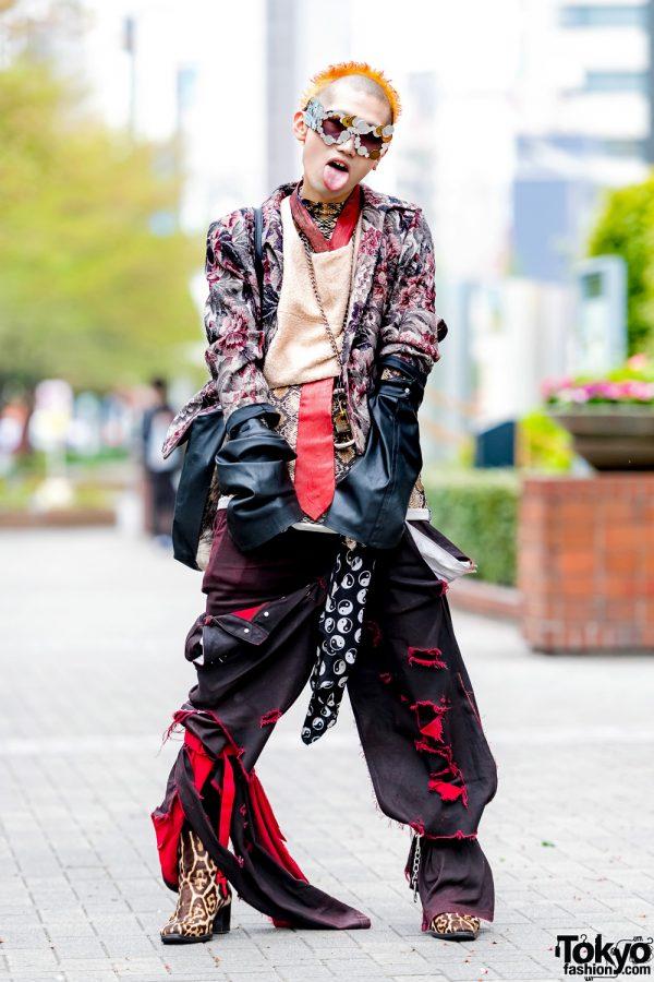 Avant-Garde Tokyo Streetwear Style w/ Rowan, Prime Cut, Saint Laurent, Vivienne Westwood & Prada