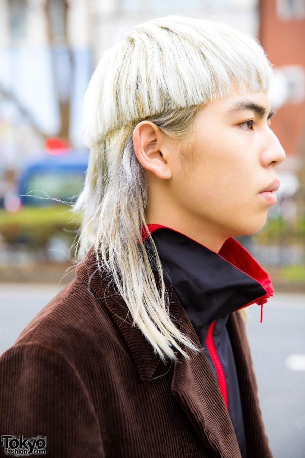 White Mullet Bob Hairstyle \u2013 Tokyo Fashion News