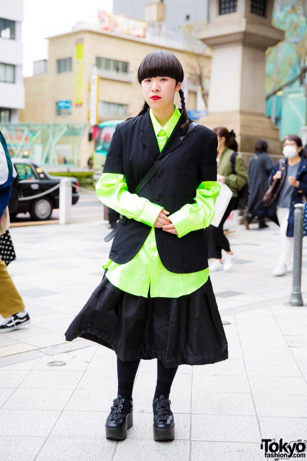 Japanese Street Style w/ Tricot Comme des Garcons, New York Joe, Tokyo Bopper & Otoe
