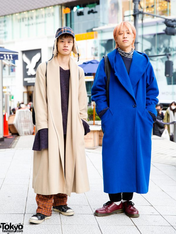 Japanese Hair Stylists in Vintage Harajuku Streetwear w/ Ajo AjoByAjo, Nobuaki Haraguchi, Peace Minus One, Comme des Garcons, Prada & Tommy Hilfiger