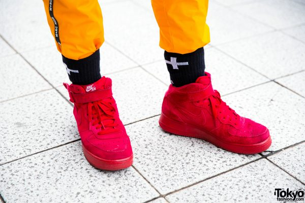 nouveau style d6051 a2c1d Nike Air Force One Suede Sneakers – Tokyo Fashion News