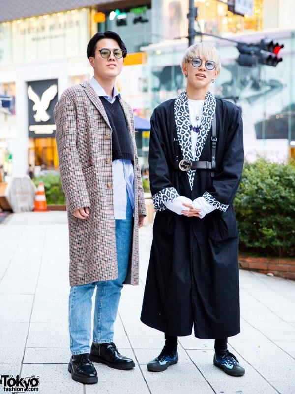 Harajuku Men's Streetwear w/ Flagstaff, Palm Angels, Guess, Zara, Gucci, Saad & Converse