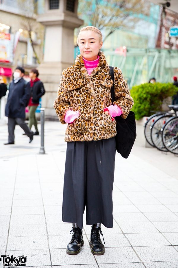 Japanese Hair Stylist in Comme des Garcons, Hope, Yaeca, Dr. Martens & Opening Ceremony
