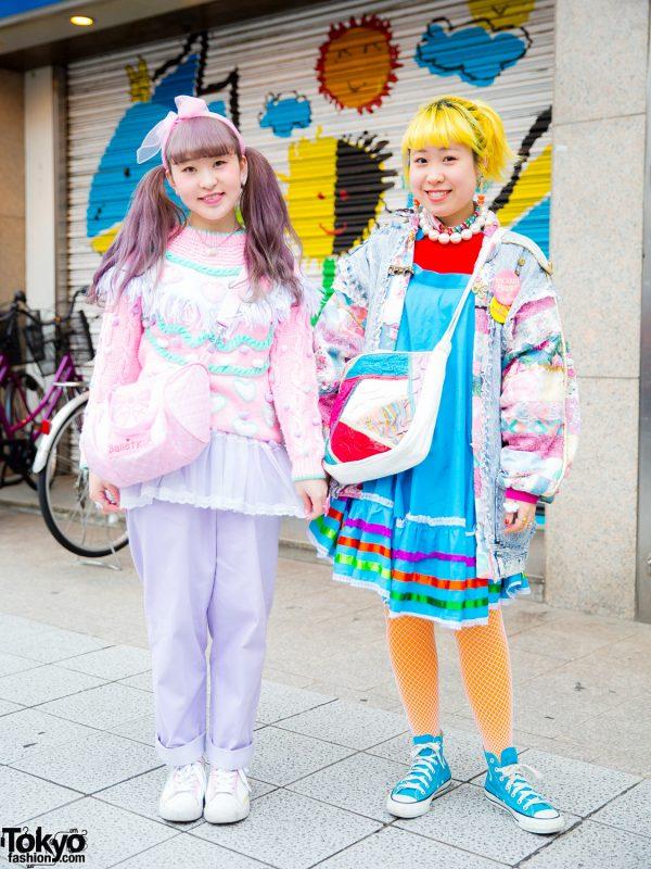 Pastel Harajuku Street Styles w/ Kiki Koenji, Kiki2, Panama Boy, Spank!, Kilo Shop, HUG, Petit Cochon & Kinji