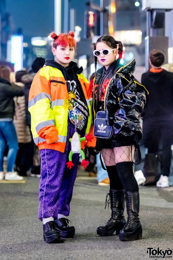 Japanese Sisters' Cool Street Styles w/ Anti Social Social Club, Nike, Oh Pearl, Keith Haring, Faith Tokyo & Kappa