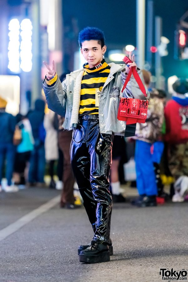 Harajuku Guy in Vintage Menswear Street Style w/ H&M, Yosuke & Romantic Standard