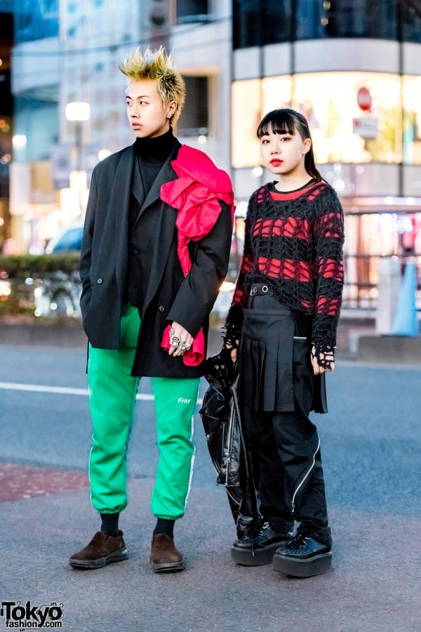 Harajuku Streetwear Styles w/ Dog Harajuku, Comme des Garcons, Fresh Anti Youth, Last Virgin & New York Joe