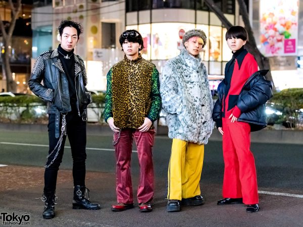 Harajuku Menswear Street Styles w/ Qlozet, Vivienne Westwood, Dog Harajuku, Saint Laurent Paris, Gap & Reebok