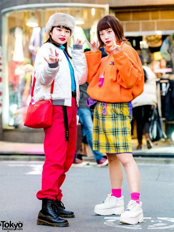 Fun Harajuku Girls in Colorful Street Styles w/ San To Nibun No Ichi, RRR Show Room, Kiki2, Kinji & Pinnap
