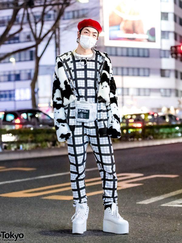 Monochrome 99%IS- Japanese Streetwear, DVMVGE Waist Bag, YRU & Maison Margiela