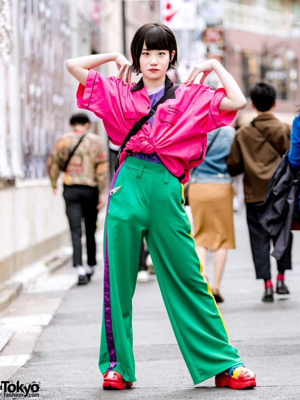 Colorful Japanese Streetwear Style w/ Chicago, RRR By Sugar Spot Factory, Yosuke & Oh Pearl