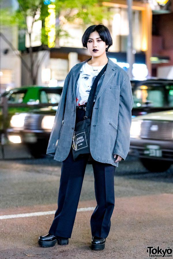 Dark Harajuku Street Style w/ Oh Pearl, Faith Tokyo, Yosuke & Opening Ceremony