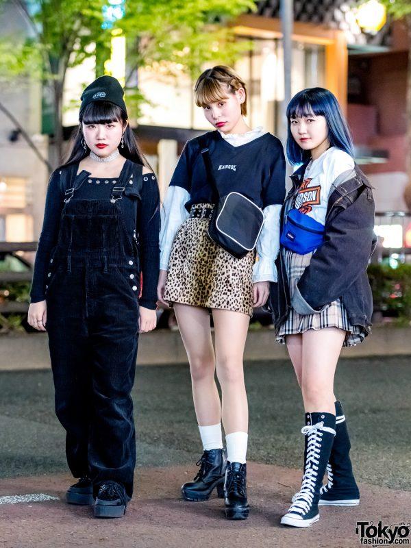 Harajuku Girls Streetwear w/ UNIF, Mabataki, Bubbles, Puma, Pinnap, Kinji & Faith Tokyo