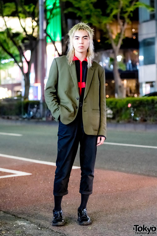 Minimalist Tokyo Menswear Street Style w/ LittleBig, Sub,Age
