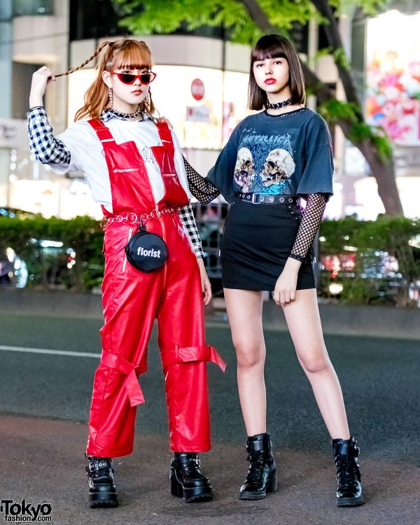 Harajuku Girls Streetwear w/ More Than Dope, Never Mind the XU, Kobinai & Bershka x Metallica