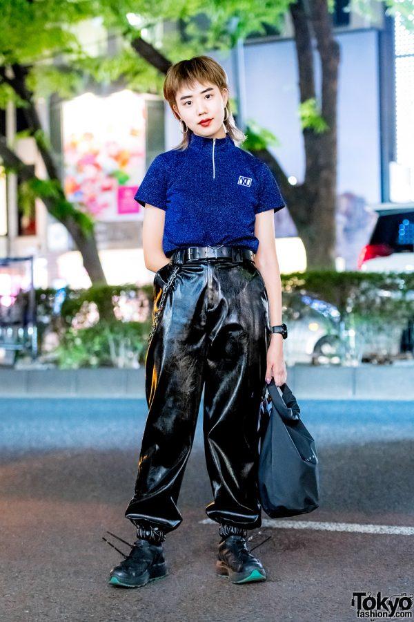 Dark Streetwear Look in Harajuku w/ Xander Zhou, I.Am.Gia, Alyx & Eytys