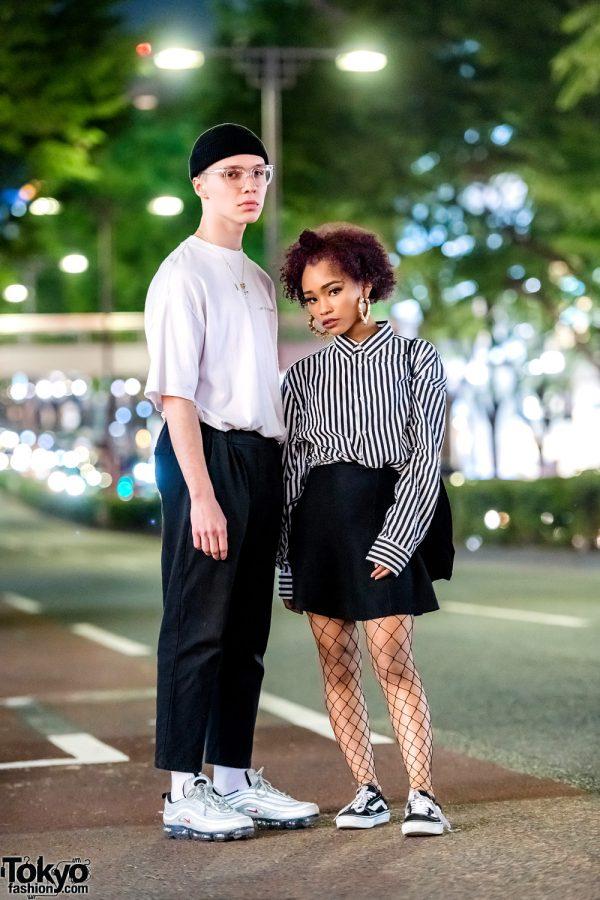 Monochrome Harajuku Streetwear w/ Fenty Puma, KAR, Ambush, Inari, Baby Shoop, Nike & Vans