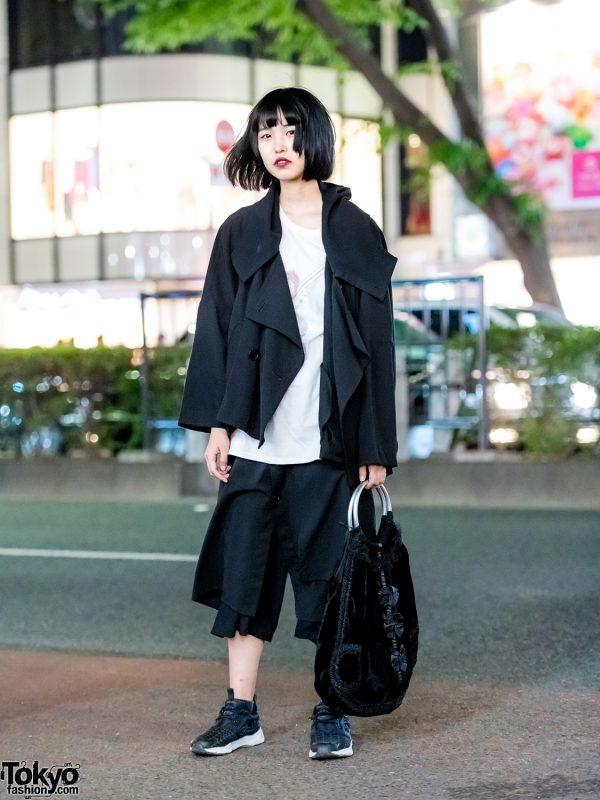 Tokyo Minimalist Streetwear Style w/ Limi Feu, Y's, Comme des Garcons & Reebok