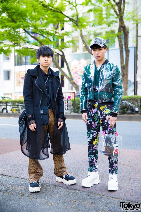 Harajuku Guys in Stylish Streetwear w/ Prega, Eytys, Faith Tokyo, H&M, Yosuke & Oh Pearl