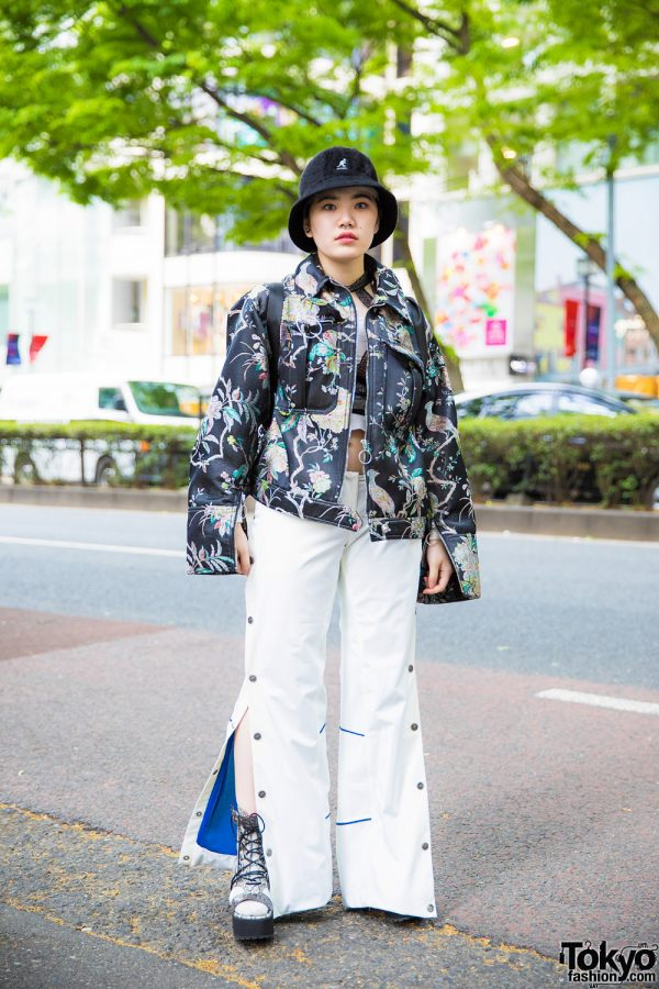Harajuku Street Casual Style w/ H&M, Victoria's Secret, MYOB, Kangol & Off-White