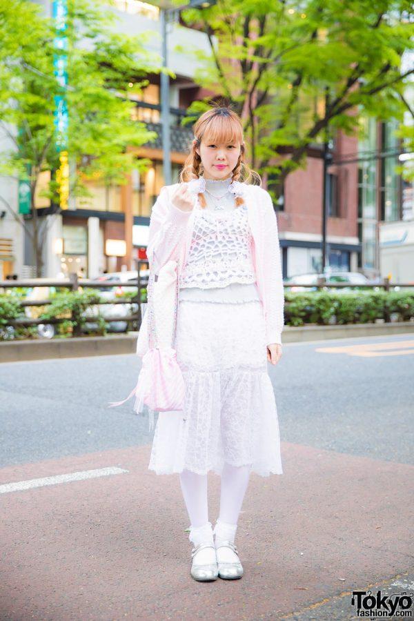 Tokyo Vintage & Handmade Street Fashion w/ Baby's Breath, The Virgin Mary, Rinrinka, Bodyline & Oh Pearl