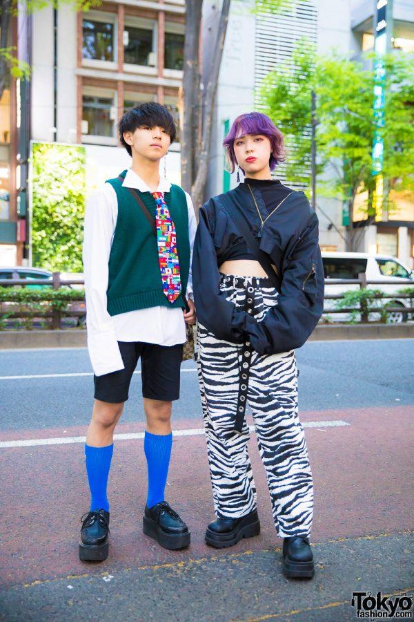 Harajuku Street Styles w/ Yosuke, H&M, Gucci, Joyrich, WEGO & Demonia
