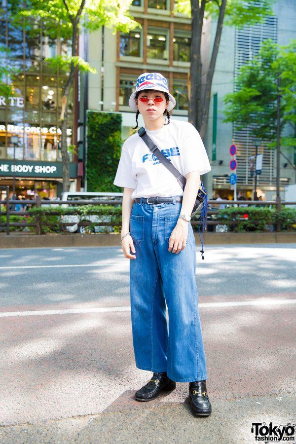 Tokyo Vintage Street Style w/ Martine Rose, O'Neill, Gucci, Rolex & Reebok